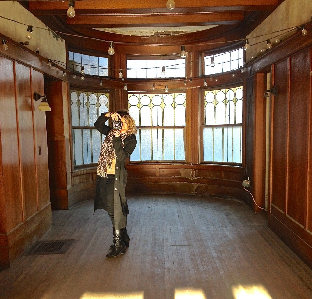 Suzi Albrecht Photographing Scribe Winery