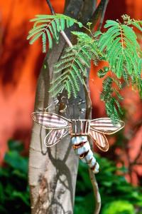 garden ornament dragonfly