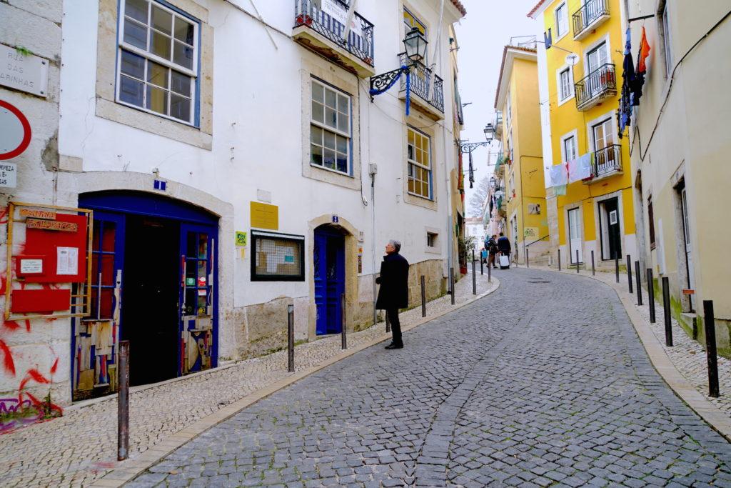Alleys of Lisbon Portugal